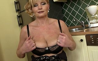 Worthless housewife getting personally stained coupled with wild