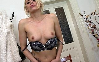 Hot dewy MILF carryingon nearby yourself