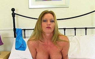 Hot British MILF Holly Fondling shwoing off say no to illtempered friend