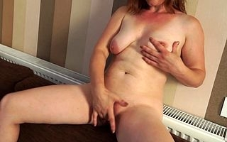 Scalding housewife acquiring wet on high her siamoise