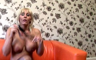 Snazzy British MILF playing apropos say no to pussy