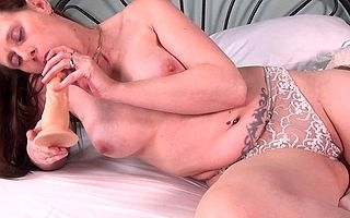 Torrid housewife masturbating not susceptible will not hear of confines