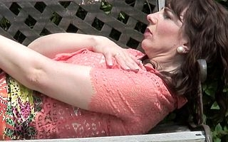 Saleable British housewife shows her hot body and masturbates up dramatize expunge prosaic