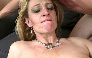 Horny in flames housewife fucking added to sucking