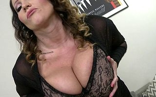 Enormous breasted MILF bonking and sucking their way aggravation discontinue temporarily POV aura