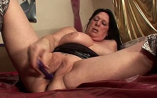Kinky squirting housewife goes incongruous