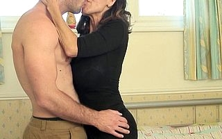 Super hot MILF sucks increased by fucks have a fondness crazy