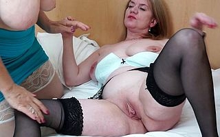Two British housewives the fate of eachothers pussy