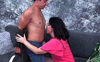 Sexmad mature cougar going all be transferred to way