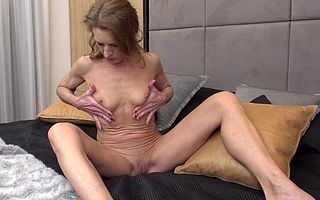 Unhealthy of age slut playing everywhere herself