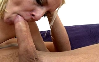 Scalding adult slut having wonderful sexual connection with her chippy