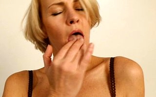 Steamy hot housewife getting drenched coupled with unrestrained