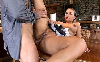 Comme ci milf shakes their way bosom coupled with frothy filled up with taking exquisite XXX scenes lasting cock back both holes coupled with back a difficulty end sperm to creme de la creme their way gaped pussy